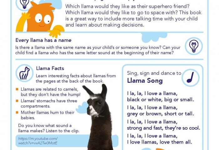 Choose Llamas by Charlie Green and Matt Hunt
